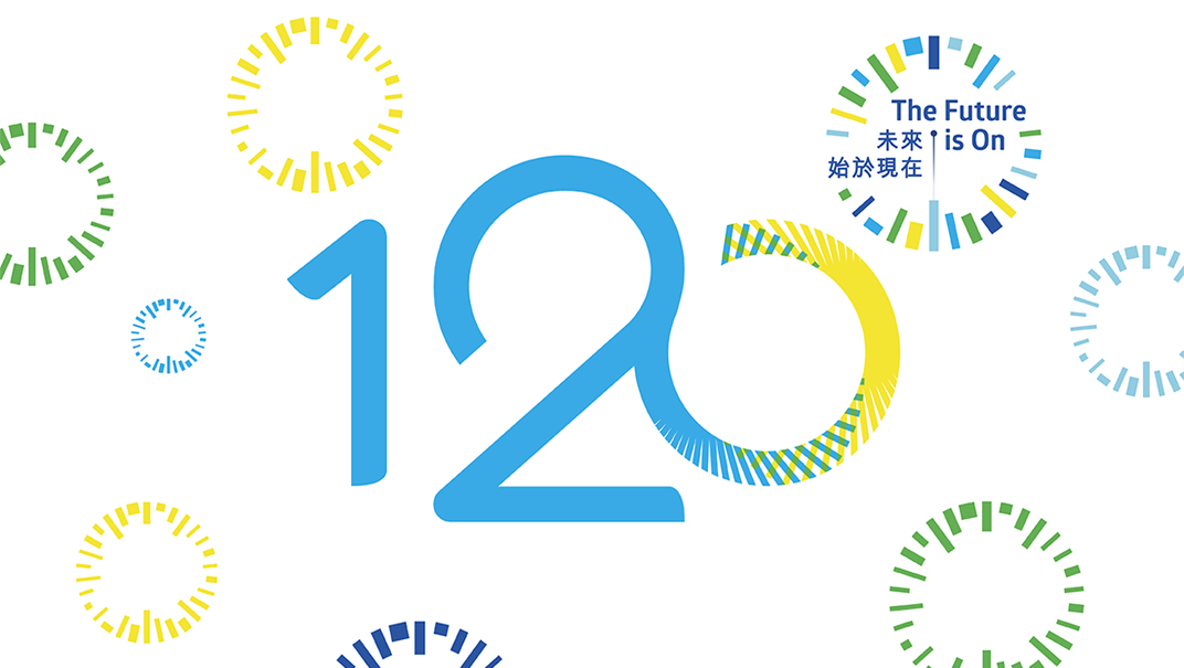 120 years of shared vision
